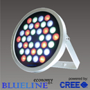Wallwasher-round-blueline-Cree-LED-RGB-